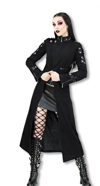 Damenmantel schwarz  L L / 40