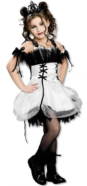 Gothic Ballerina Child Costume L L