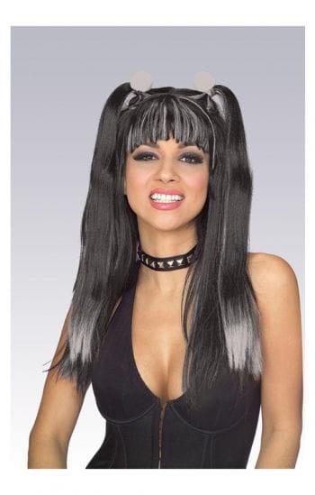 Gothic Cheerleader Wig