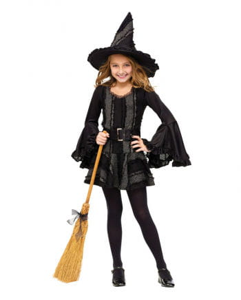 Gothic Witch Child Costume. M
