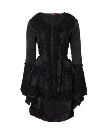 Victorian ruffled coat