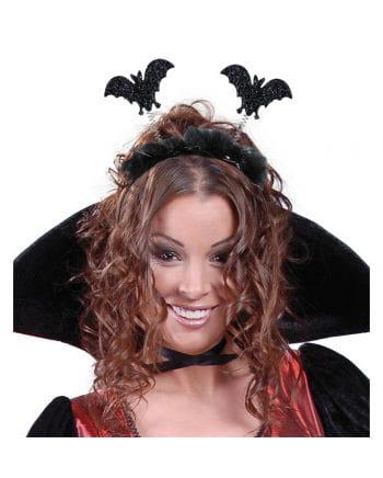 Headband with Glitter Bats
