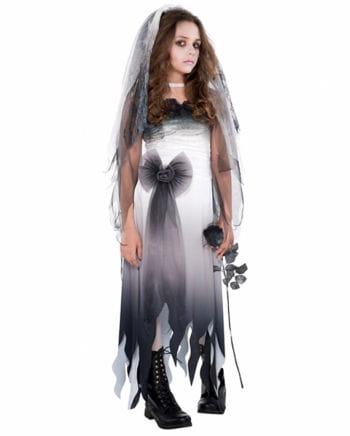 Graveyard bride child costume