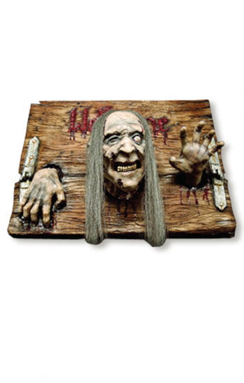 Welcome Zombie sign