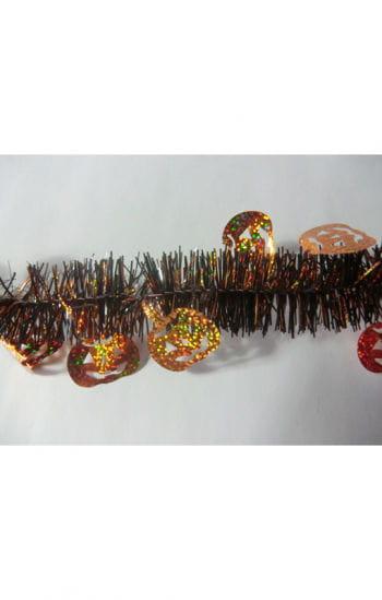 Halloween pumpkin garland Fringe
