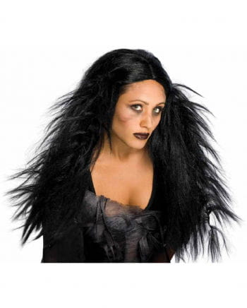 Swamp Witch Wig black