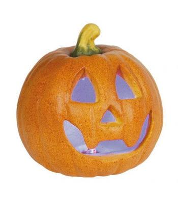 Halloween pumpkin with LED 15cm
