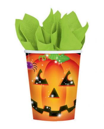 Halloween Kürbis Pappbecher