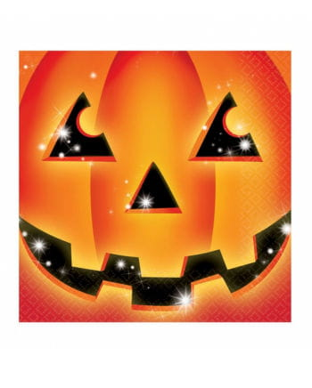 Halloween Pumpkin Napkins 16 pc