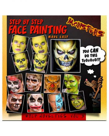 Halloween make-up book