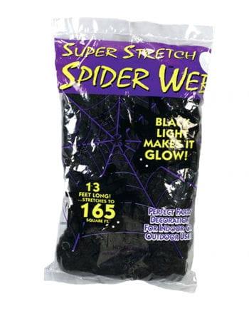 Spinnennetz schwarz 50g