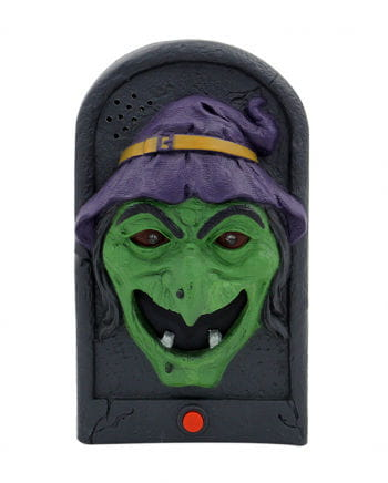 Halloween doorbell witch with Light & Sound
