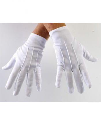 Gloves white Deluxe