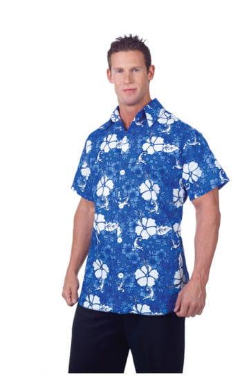 Hawaii Hemd Blau