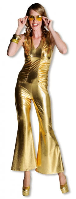 heißer Catsuit Gold