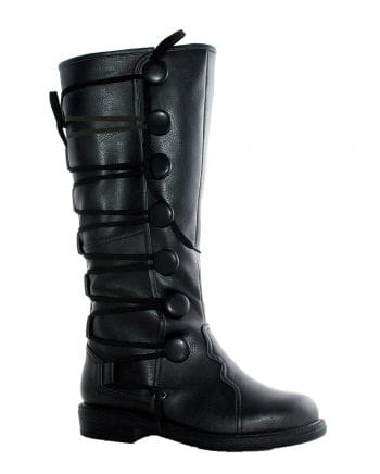 Renaissance men`s boots Black