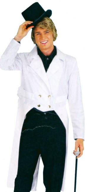 Men Tailcoat White