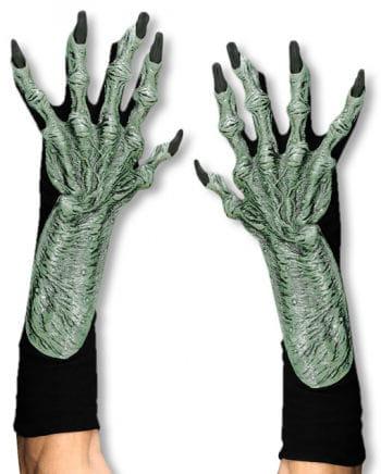 Hexenhände aus Latex