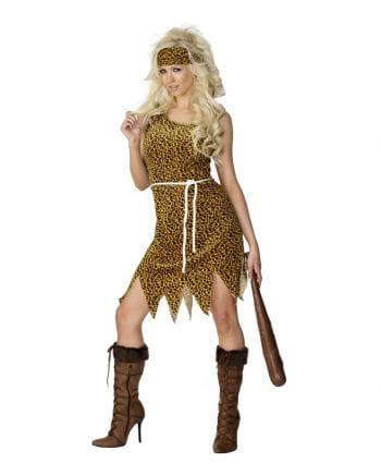 Höhlenfrau Kleid