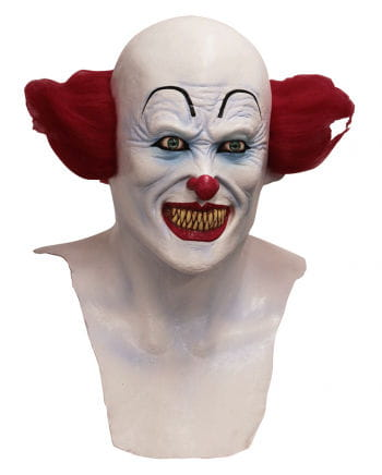 Horror clown mask with chest part