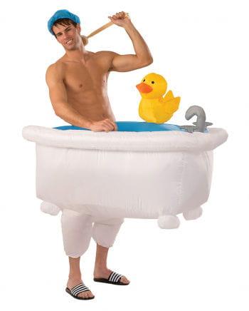 Aufblasbare Badewanne Kostüm