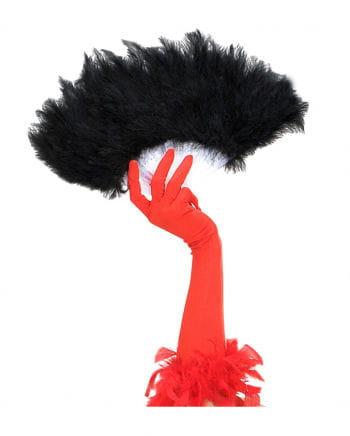 Feather Fan Black