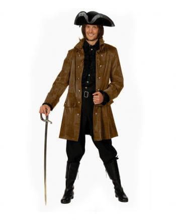 Pirate jacket suede-look