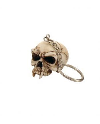 Totenkopf Schlüsselanhänger ohne Unterkiefer