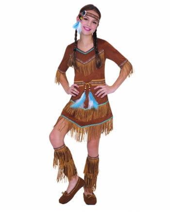 Indianer Mädchenkostüm