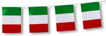 Flag Garland Italy 5 m