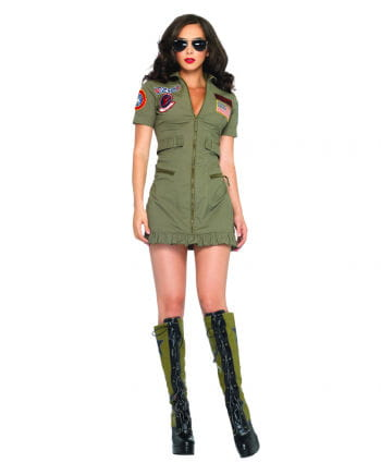 Jet pilot women's costume