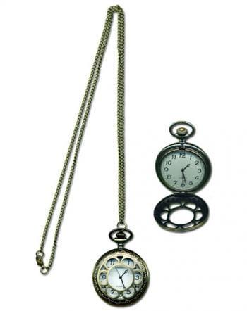 Kette mit Steampunk Uhr