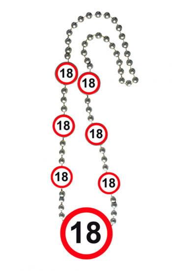 Kette Verkehrsschild 18