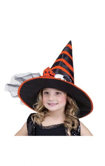 Child Witch Hat Black Orange