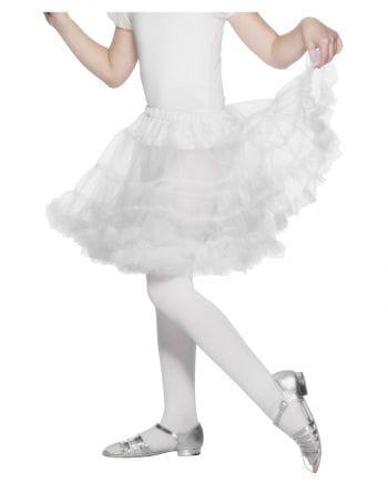 Children Pettitcoat White
