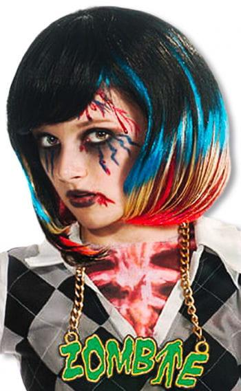 Kinder Rocker Zombie Perücke