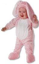 Pinker Hase Kinderkostüm XL