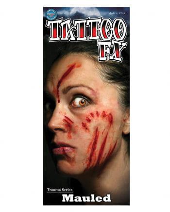 FX lacerations Tattoo