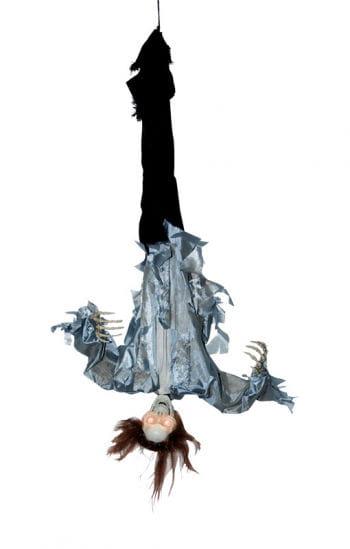Hanging upside down, grabbing Skeletons