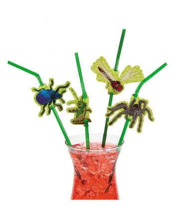 Krabbeltier straws