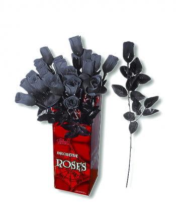 Artificial Rose Black-White
