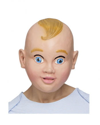 Lachendes Baby Maske
