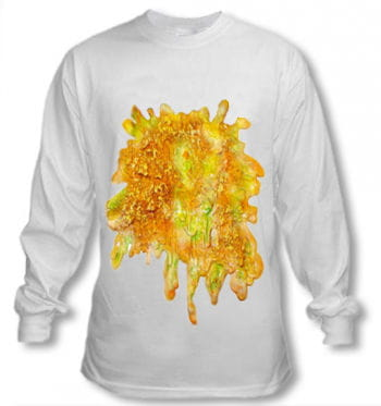Langärmeliges Wiesn Shirt mit Kotzfleck