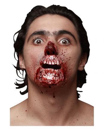 Zombie Face Latexapplikation