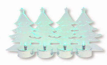 LED Fir Tree 4 PCS Set