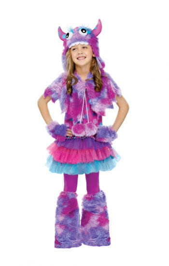Purple Cuddle Monster Costume
