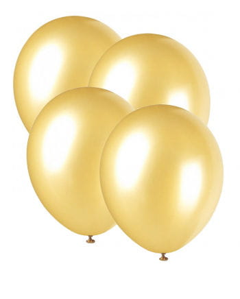 Balloons Metallic Gold 25 St.