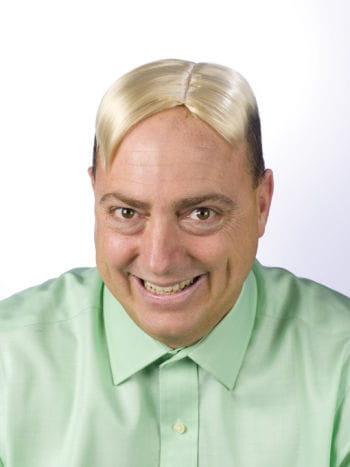 Mens Toupee Blond