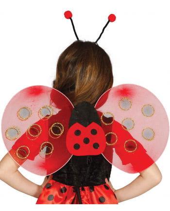 Marienkäfer Flügel für Kinder
