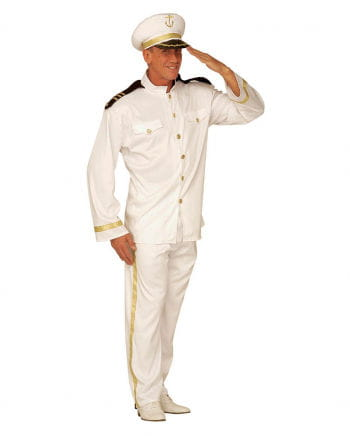 Navy Captain Costume XL